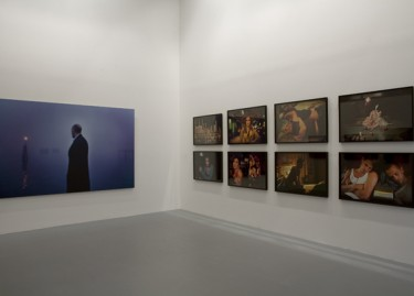 Works by Nan Goldin. Photograph by Pascal Martinez.
