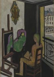 Matisse, Le Peintre dans son atelier, fin 1916-début 1917, Mnam, Centre Pompidou, Paris