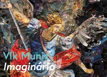 Vik Muniz, Archangel Michael, after Darko Topalski (Imaginária), 2019 (détail)