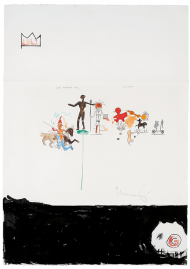 Jean-Michel Basquiat, Sans titre (Left Entrance Hall), 1986