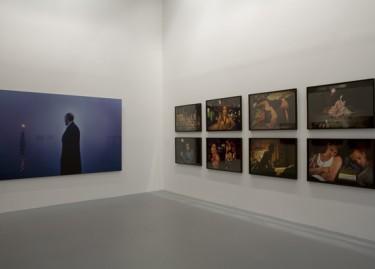 Oeuvres de Nan Goldin. Photographie Pascal Martinez.