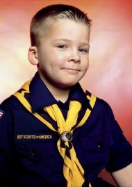 """Andres Serrano, """"America, John Schneider, Boy-scout de la troupe 422"""", 2002"""