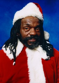 """Andres Serrano, """"Black Santa"""", 2001"""