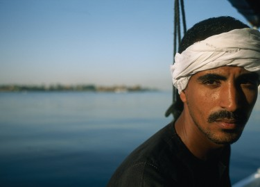 Nan Goldin, Jabalowe On A Felluca, Nile, Luxor, Egypt 2003, cibachrome