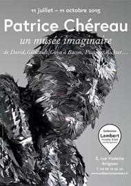 Affiche de l'exposition. Oeuvre de Adel Abdessemed (détail). Graphisme Antoine et Manuel