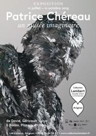Affiche de l'exposition, oeuvre de Adel Abdessemed (Untitled, 2014, détail), graphisme Antoine et Manuel