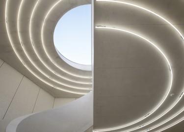 Vue de l'atrium, © Laurent P. Berger, Berger&Berger 2015