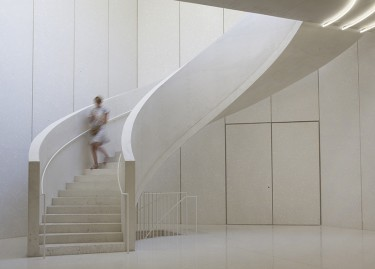 Vue du grand escalier, © Laurent P. Berger, Berger&Berger 2015