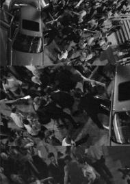 Chronique d'un assassinat - A, 2016, E/A I/II, Amos Gitaï, 2015, tirage impression encre pigmentaire collé sous diasec, 140 x 250 cm, Édition de « + 2 EA, Courtesy Galerie Enrico Navarra