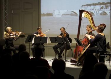 Le Quintette cordes et harpe, droits réservés