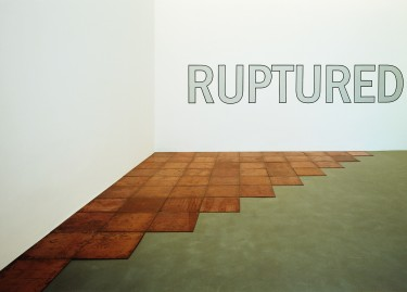 Oeuvres de Carl Andre, Lawrence Weiner